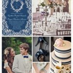 Inspiracje ślubne: kolor: niebieski | styl: vintage