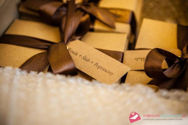 karteczki na zaproszenia ślubne
