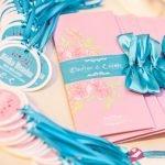 """Zaproszenia ślubne """"CANDY SWEET"""" …bardzo słodkie różowe zaproszenia ślubne"""