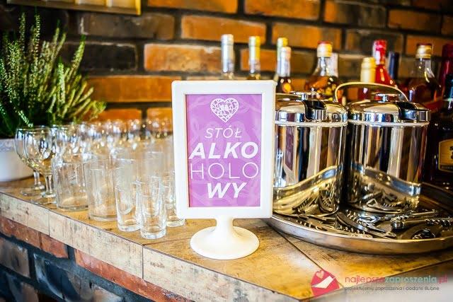 tabliczki na stoły