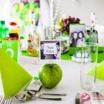 """zaproszenia ślubne typu """"WHITE ELITE"""" w kolorze zielonym i dodatki na ślub"""