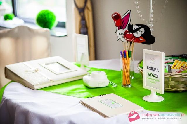 gadżety na wesele