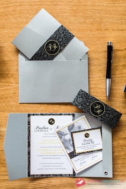 eleganckie zaproszenia