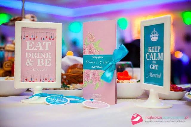 najlepsze Słodkie zaproszenia ślubne