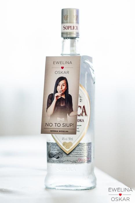 etykiety na wódkę