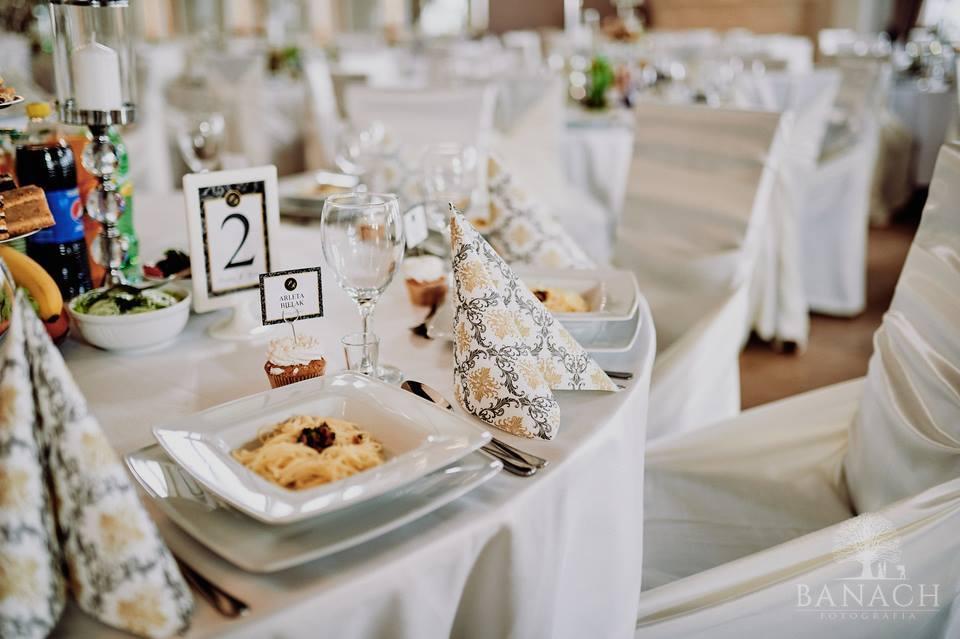 sala weselna dodatki ślubne