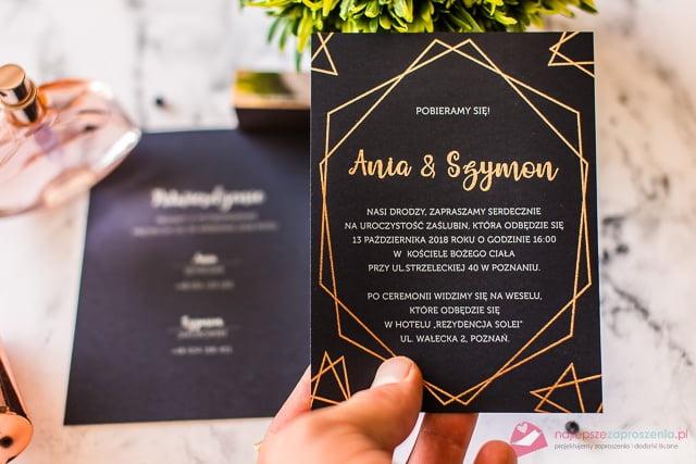 zaproszenia na ślub inne