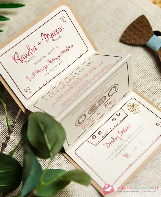 Najlepsze Zaproszenia Pl Zaproszenia ślubne Zaproszenia Na ślub