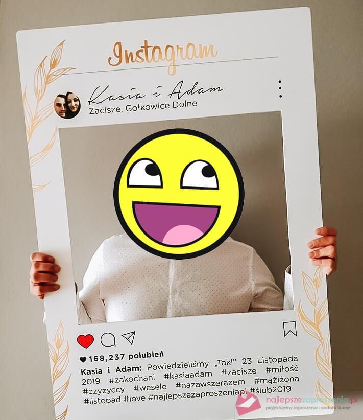 tablica instagram nawesele
