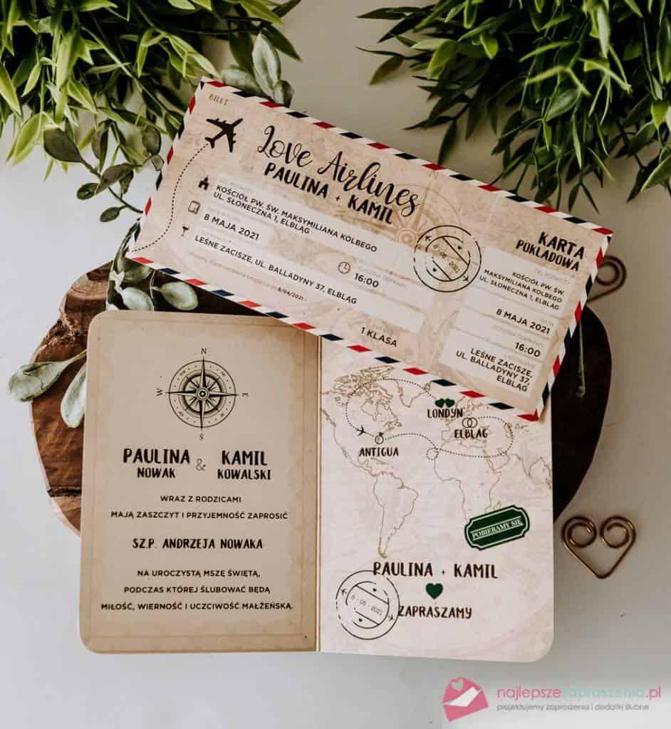środek paszportu