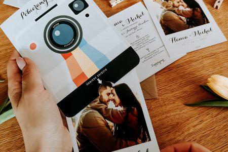 zaproszenia ślubne instagram